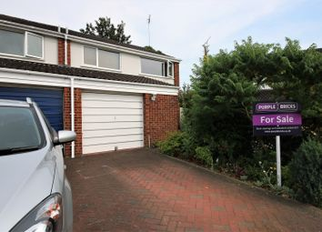 Thumbnail 3 bed semi-detached house for sale in Seneschal Road, Coventry