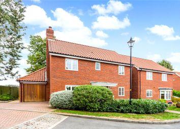 Thumbnail 4 bed detached house for sale in Rosemary Close, Great Bedwyn, Marlborough, Wiltshire