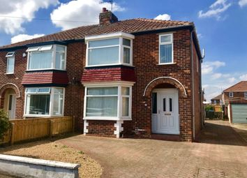 Thumbnail 3 bed semi-detached house for sale in Hatfield Avenue, Middlesbrough