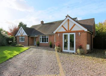 Thumbnail 4 bed detached bungalow for sale in London Road, Stapeley, Nantwich