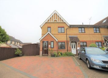 Thumbnail 3 bed semi-detached house for sale in Wansbeck Close, Stevenage
