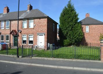 Thumbnail 2 bedroom semi-detached house for sale in Holywell Avenue, Newcastle Upon Tyne