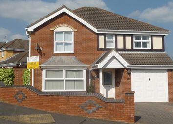 Thumbnail 4 bed detached house to rent in Thorpe Downs Road, Church Gresley, Swadlincote