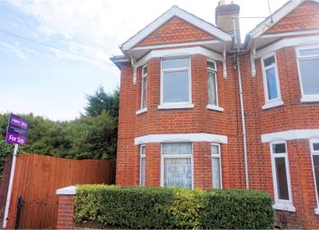 Thumbnail 3 bed semi-detached house for sale in Bedford Avenue, Southampton