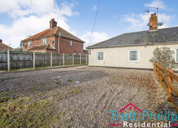 Thumbnail 2 bed semi-detached bungalow for sale in Reynolds Lane, Potter Heigham, Great Yarmouth