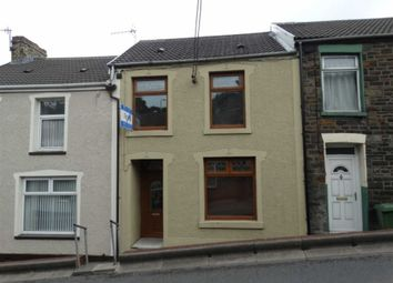 Thumbnail 3 bed terraced house to rent in High Street, Mountain Ash, Rhondda Cynon Taf