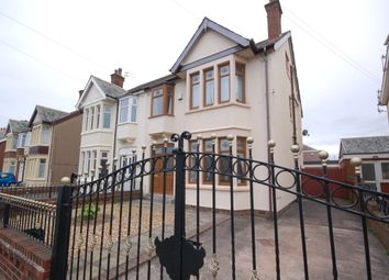 Thumbnail 5 bed semi-detached house for sale in Napier Avenue, Blackpool