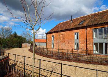 Thumbnail 3 bedroom barn conversion for sale in The Street, Little Snoring, Fakenham