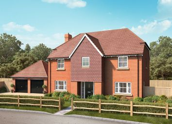 Thumbnail 4 bed detached house for sale in School Lane, Broughton, Hampshire