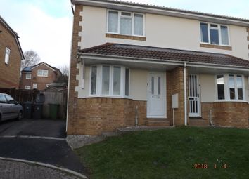 Thumbnail 2 bed semi-detached house to rent in Oakhill Rise, Barnstaple