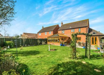 Thumbnail 4 bed detached house for sale in Jenkinsons Pightle, Bedingham, Bungay