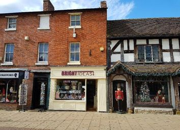 Thumbnail Retail premises for sale in Henley Street, Stratford Upon Avon