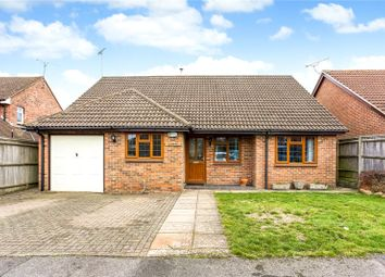 Thumbnail 3 bed detached bungalow for sale in Lipscomb Close, Hermitage, Thatcham, Berkshire