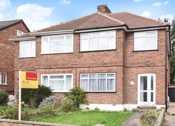 Thumbnail 3 bed semi-detached house to rent in Whitegate Gardens, Harrow