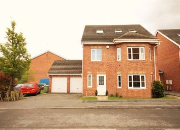Thumbnail 4 bedroom detached house for sale in Cardinal Way, Clipstone Village, Mansfield, Nottinghamshire