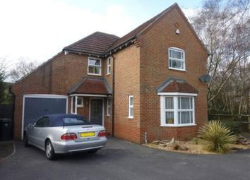 Thumbnail 4 bed detached house to rent in Wollaton Road, West Parley, Ferndown