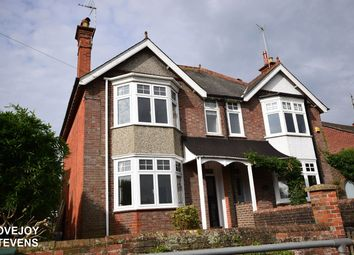 Thumbnail 4 bed semi-detached house to rent in Greenham Road, Newbury