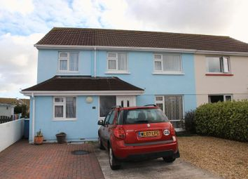 Thumbnail 5 bed semi-detached house for sale in Sweet Briar Crescent, Newquay