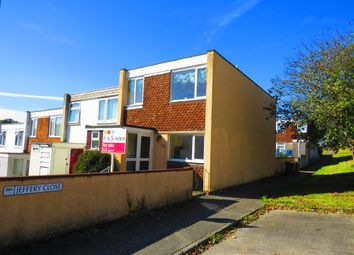 Thumbnail 3 bed end terrace house for sale in Jeffery Close, Plymouth