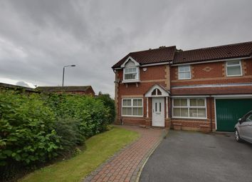 Thumbnail 3 bed semi-detached house for sale in Temple Row Close, Leeds, West Yorkshire