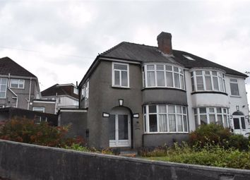 Thumbnail Semi-detached house for sale in Lon Towy, Cockett, Swansea