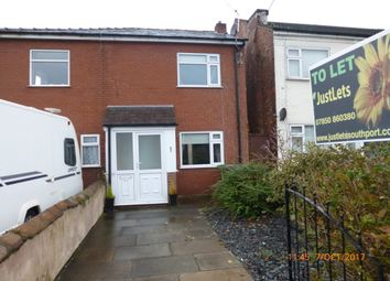 Thumbnail 2 bed semi-detached house to rent in Stamford Road, Southport