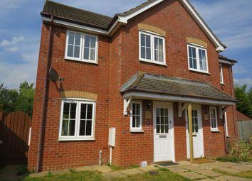 Thumbnail 3 bed property to rent in Sandstone Close, Calvert, Buckingham
