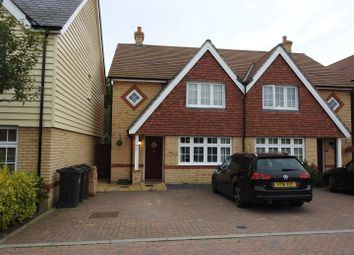 Thumbnail 3 bed semi-detached house to rent in Harold Avenue, Hailsham