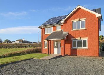 Thumbnail 4 bedroom detached house for sale in Llewellyn Close, Cilmery, Builth Wells