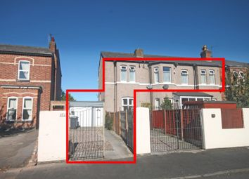 Thumbnail 3 bed flat for sale in Hampton Road, Southport