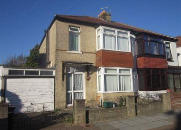 Thumbnail 3 bed property for sale in Paignton Avenue, Portsmouth