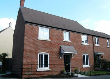 Thumbnail 4 bed semi-detached house to rent in Pathfinder Way, Swindon, Wiltshire