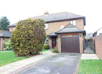 Thumbnail 4 bed semi-detached house for sale in Cannon Way, West Molesey