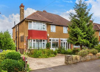 Thumbnail 4 bed semi-detached house for sale in Wickham Avenue, Cheam, Sutton
