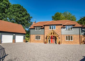Thumbnail 4 bed detached house for sale in Whitehouse Road, Woodcote, Reading