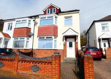 Thumbnail 3 bed semi-detached house to rent in Coleridge Road, Portsmouth