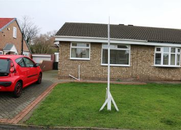 Thumbnail 1 bed semi-detached bungalow for sale in Hamilton Grove, Middlesbrough