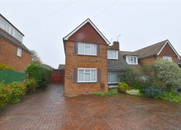 3 bed semi-detached house for sale in Ravensbourne Avenue, Shoreham-By-Sea, West Sussex BN43