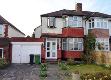 Thumbnail 3 bed semi-detached house for sale in Ravensfield Gardens, Stoneleigh, Epsom