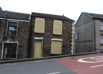 Thumbnail 3 bed terraced house for sale in St Davids Cottages, High Street, Mountain Ash