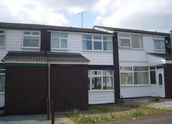Thumbnail 3 bed terraced house for sale in Brewster Close, Coventry