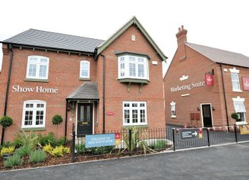 Thumbnail 4 bed detached house for sale in The Darlington, Hilltop View, Burton On Trent