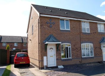 Thumbnail 2 bed semi-detached house for sale in Weston Park Avenue, Stretton, Burton-On-Trent, Staffordshire