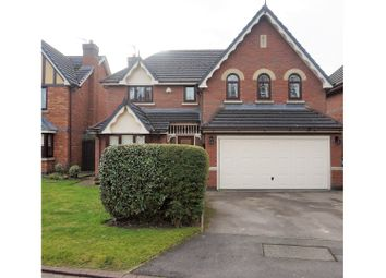 Thumbnail 4 bed detached house for sale in Riversdale, Warrington