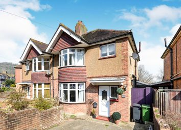 Thumbnail 3 bedroom semi-detached house for sale in Cherry Garden Road, Eastbourne