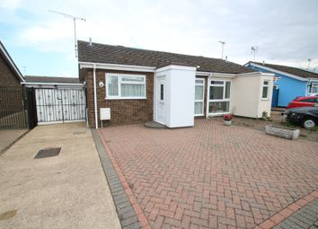 Thumbnail 2 bed semi-detached bungalow for sale in Dorset Gardens, Ashingdon, Rochford