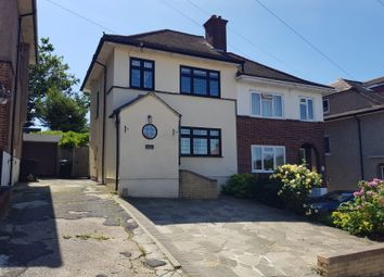 Thumbnail 3 bed semi-detached house to rent in Larchwood Close, Romford, Essex