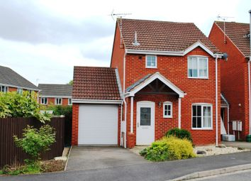 Thumbnail 3 bed detached house to rent in Bristol Close, Coddington