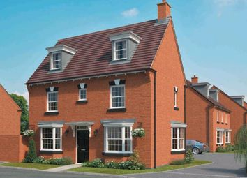 "Thumbnail 4 bed end terrace house for sale in ""Hertford"" at Wedgwood Drive, Barlaston, Stoke-On-Trent"