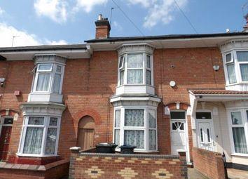 Thumbnail 4 bed terraced house for sale in Medlicott Road, Sparkbrook, Birmingham, West Midlands